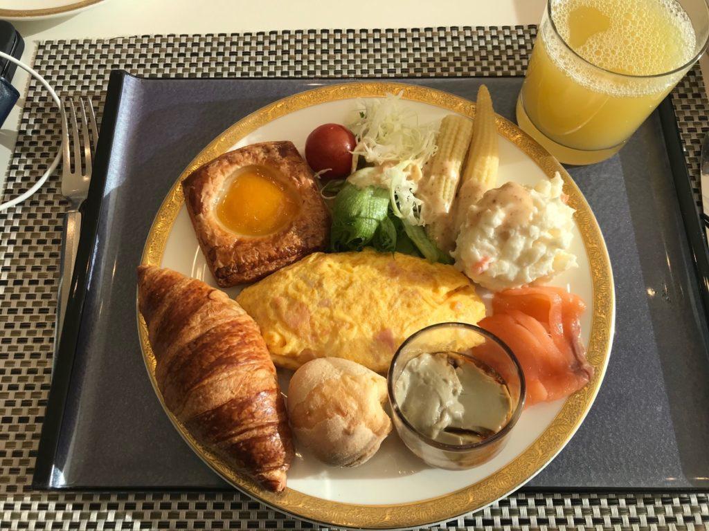 ANAクラウンプラザホテル神戸の朝食バイキング