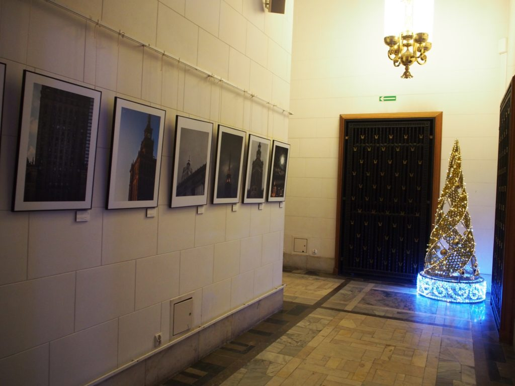 文化科学宮殿の展望フロア