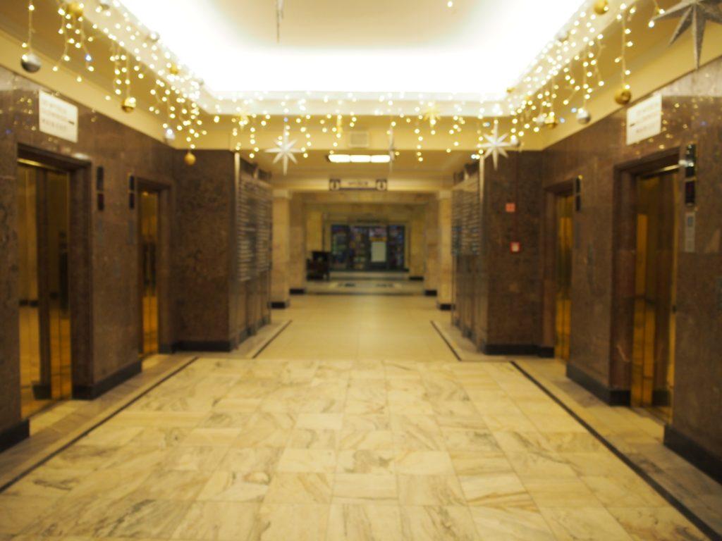 文化科学宮殿の内部