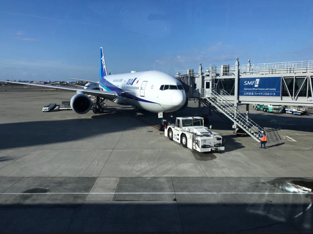 伊丹空港のANA機体
