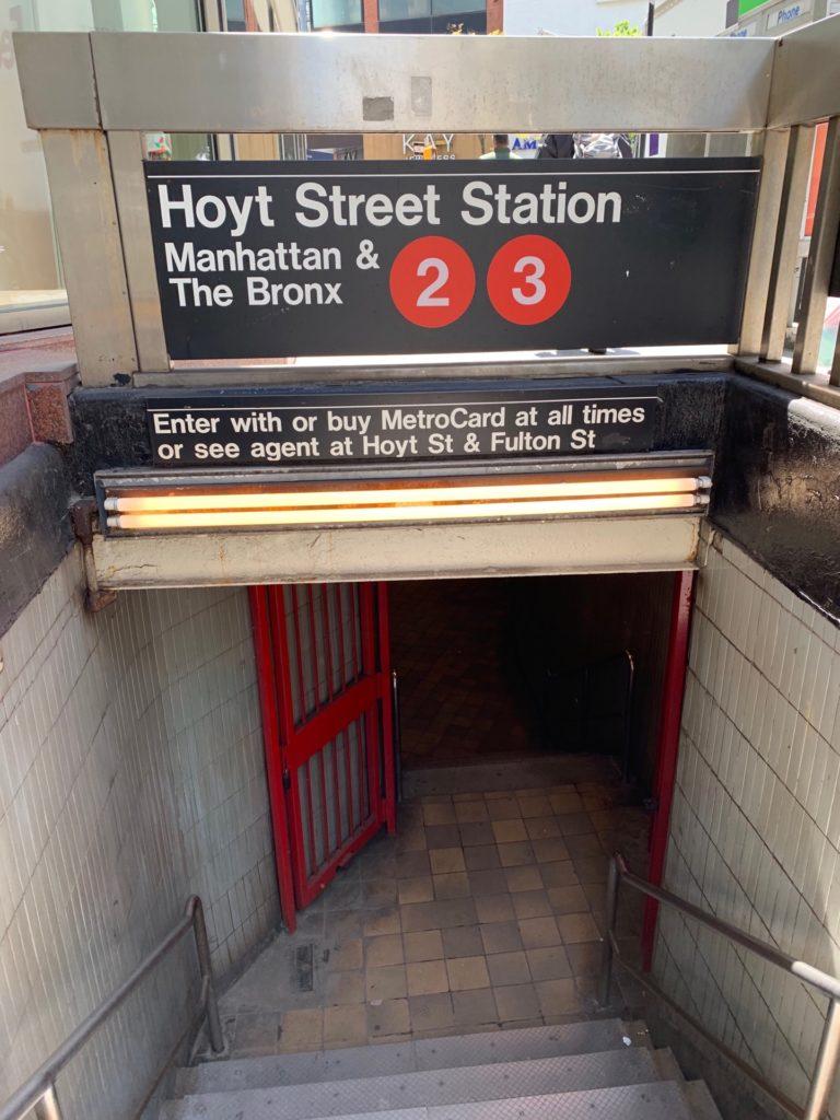 Hoyt St駅
