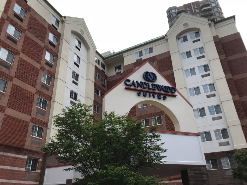 Candlewood Suites Jersey City -Harborsideの外観