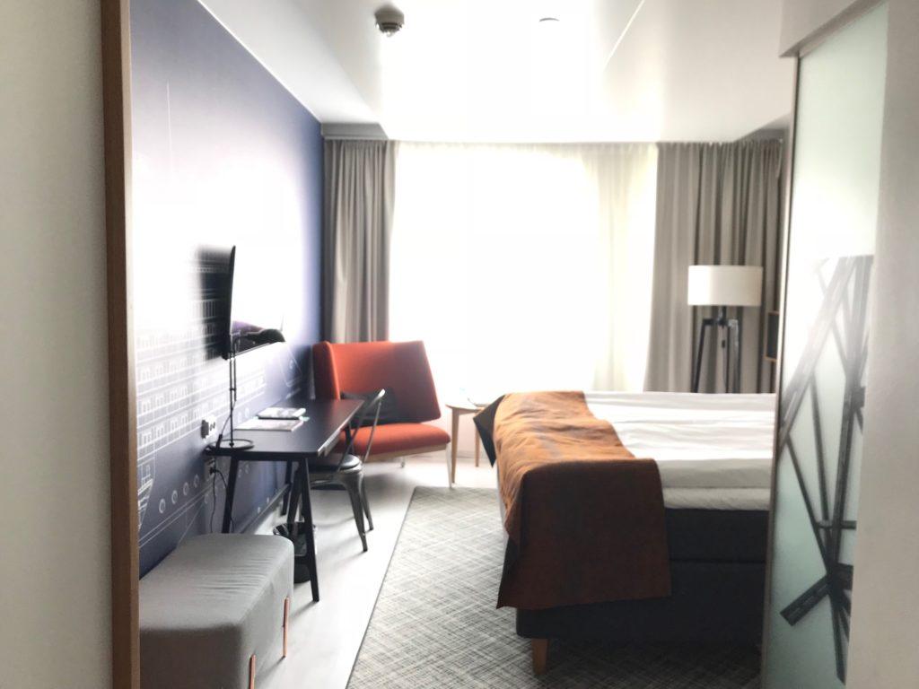 Hotel Indigo Helsinki - Boulevardの客室(スタンダードルーム)