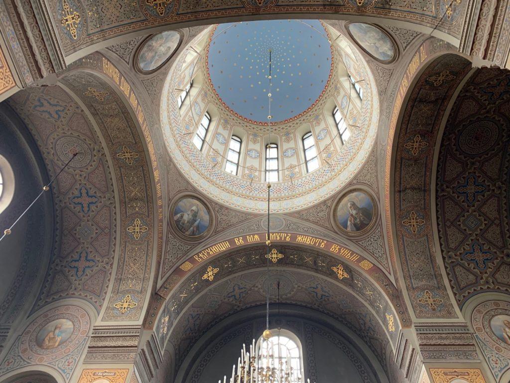 ウスペンスキー大聖堂の内装