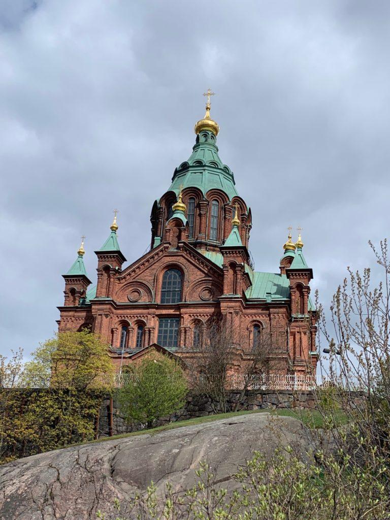 ウスペンスキー大聖堂の外観
