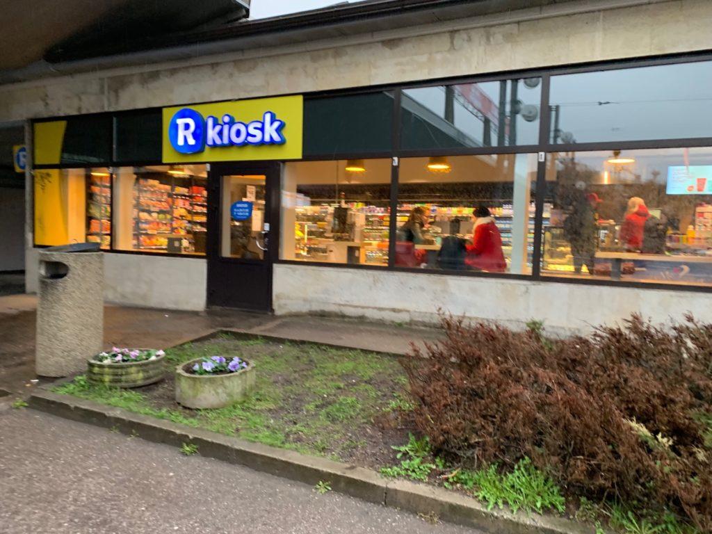 Kiosk(タリン駅内)