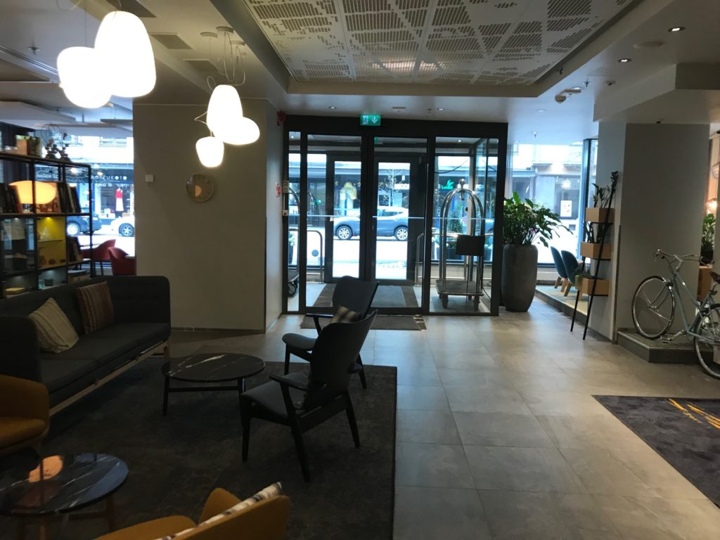 Hotel Indigo Helsinki - Boulevardロビー