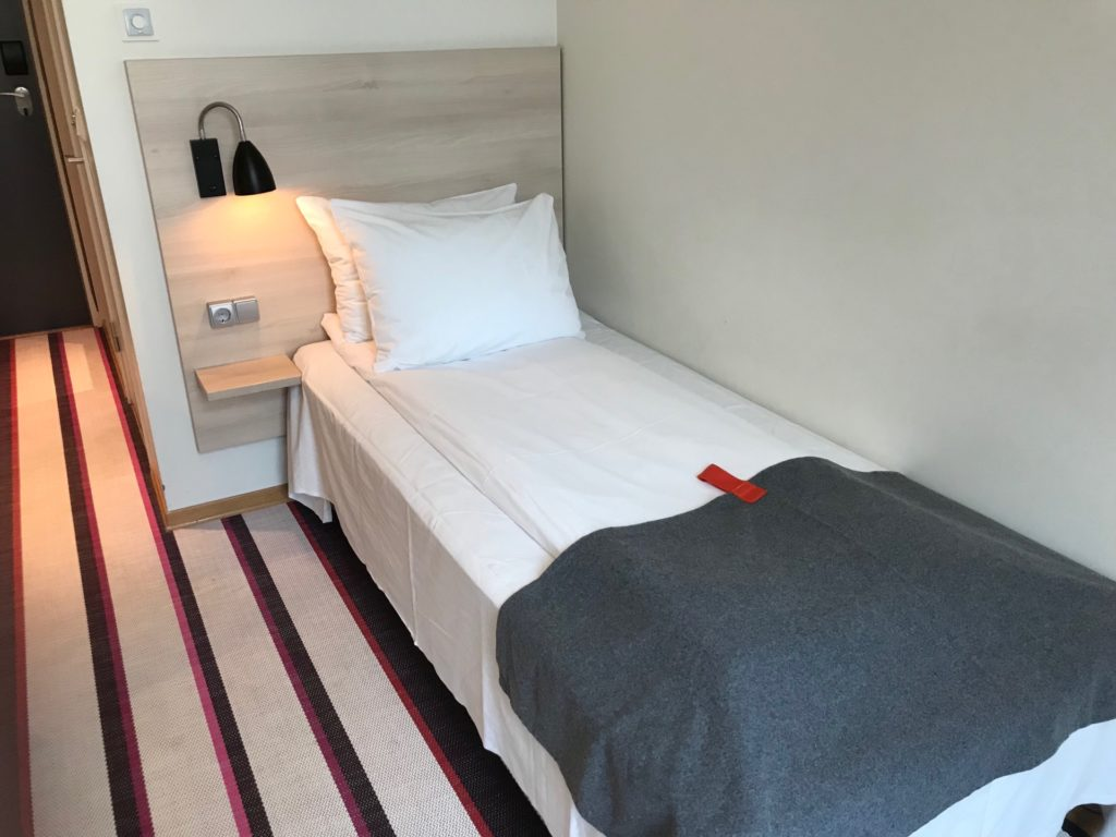 シティボックス オスロの客室のベッド