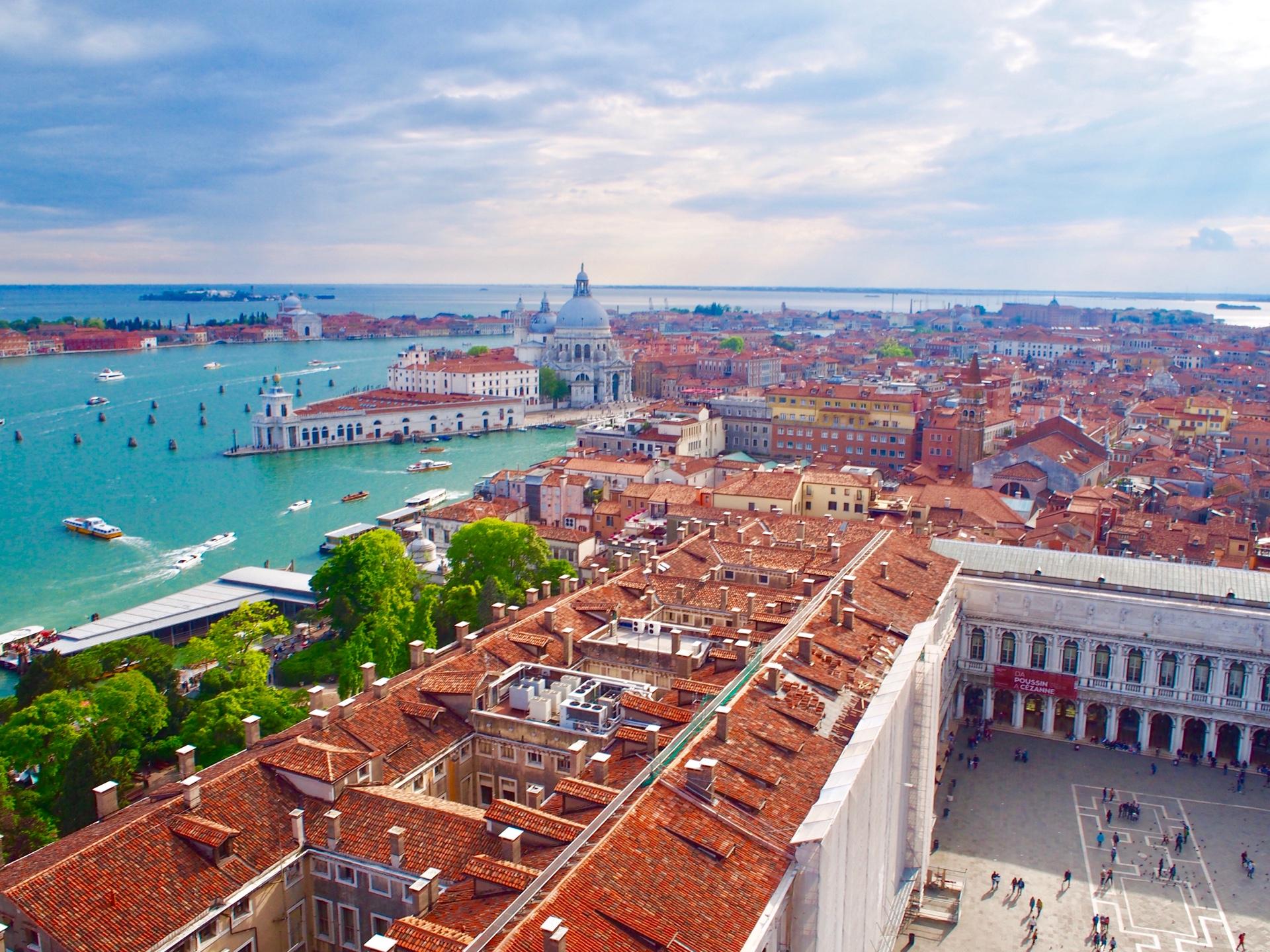 ベネチアの絶景