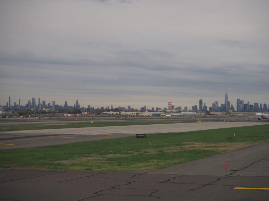 ユナイテッド航空離陸前の写真