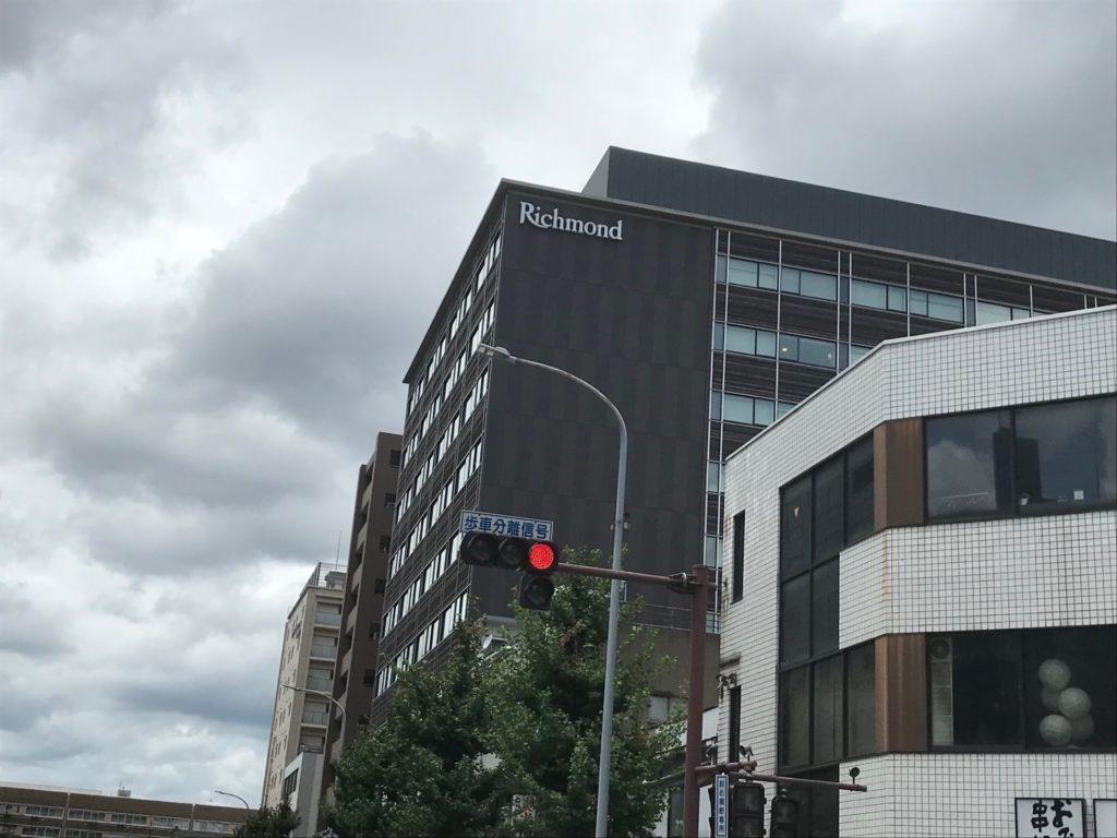 リッチモンドホテルプレミア京都駅前の外観