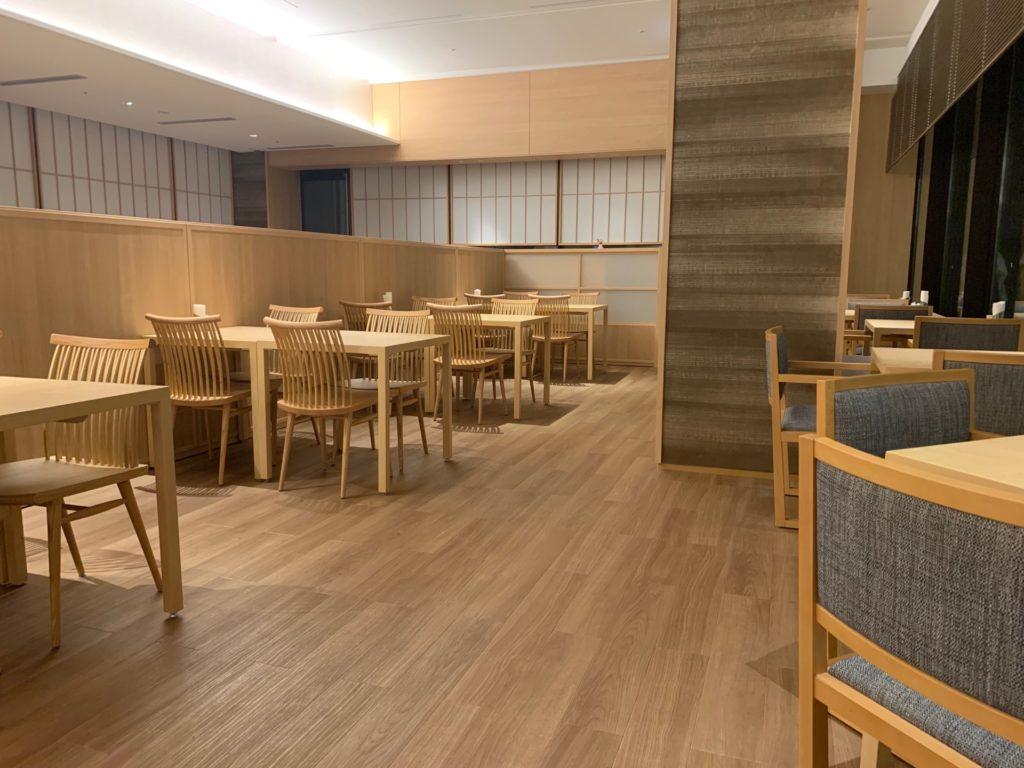 リッチモンドホテルプレミア京都駅前の朝食会場