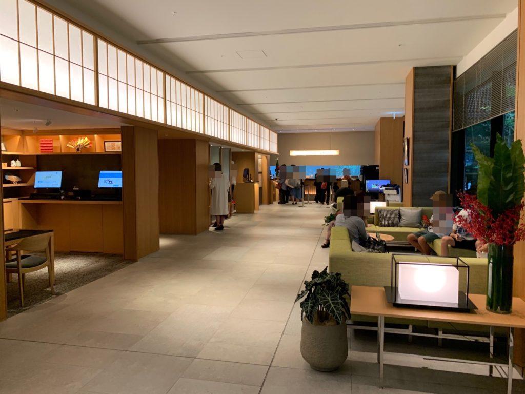 リッチモンドホテルプレミア京都駅前のロビー