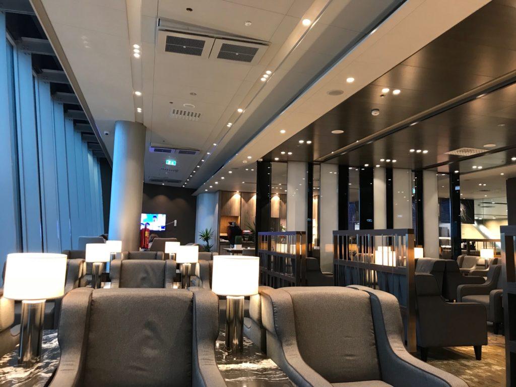 Plaza Premium Lounge 内部