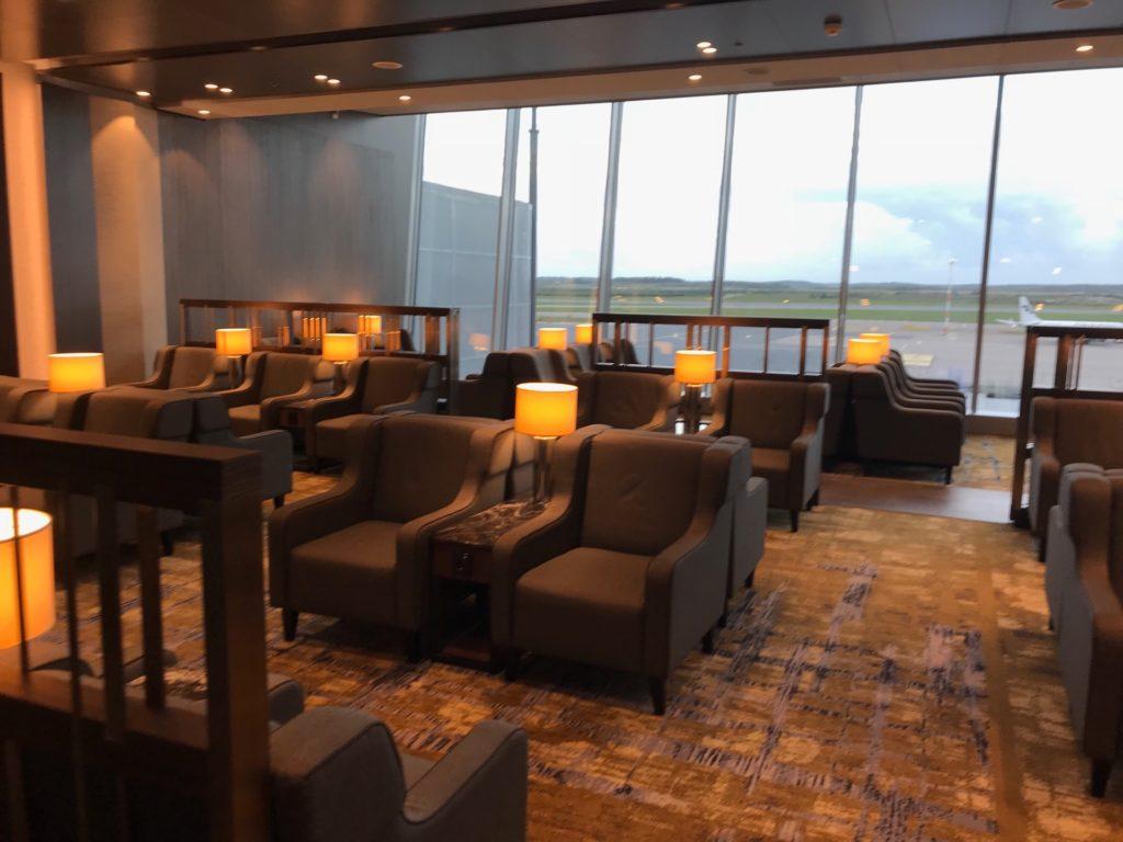 Plaza Premium Lounge の内部