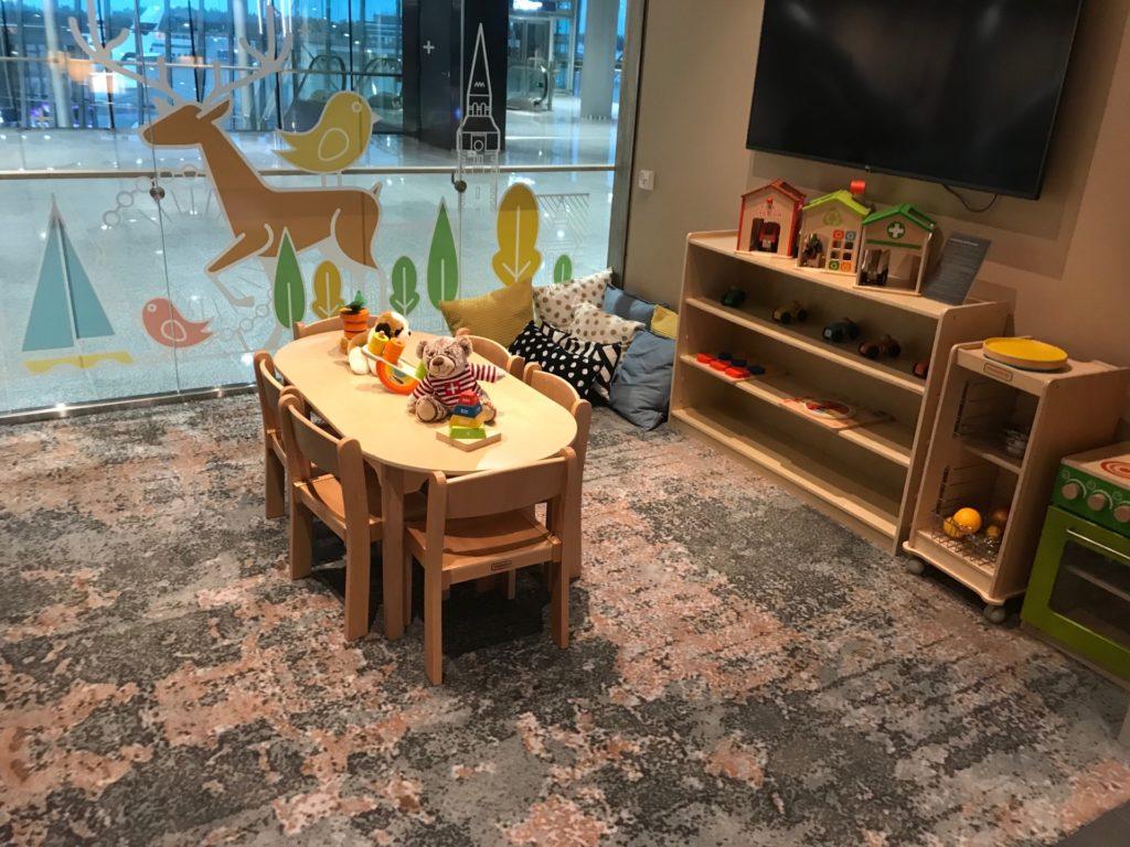Plaza Premium Lounge の子ども用スペース