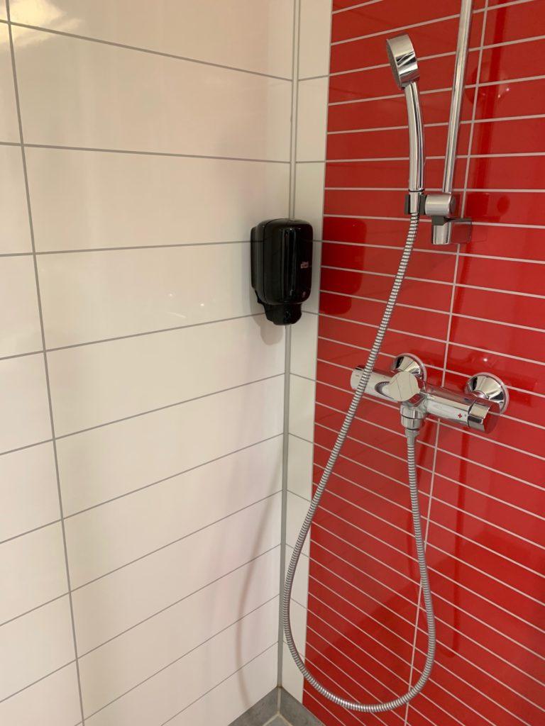 シティボックスベルゲンの客室のシャワー