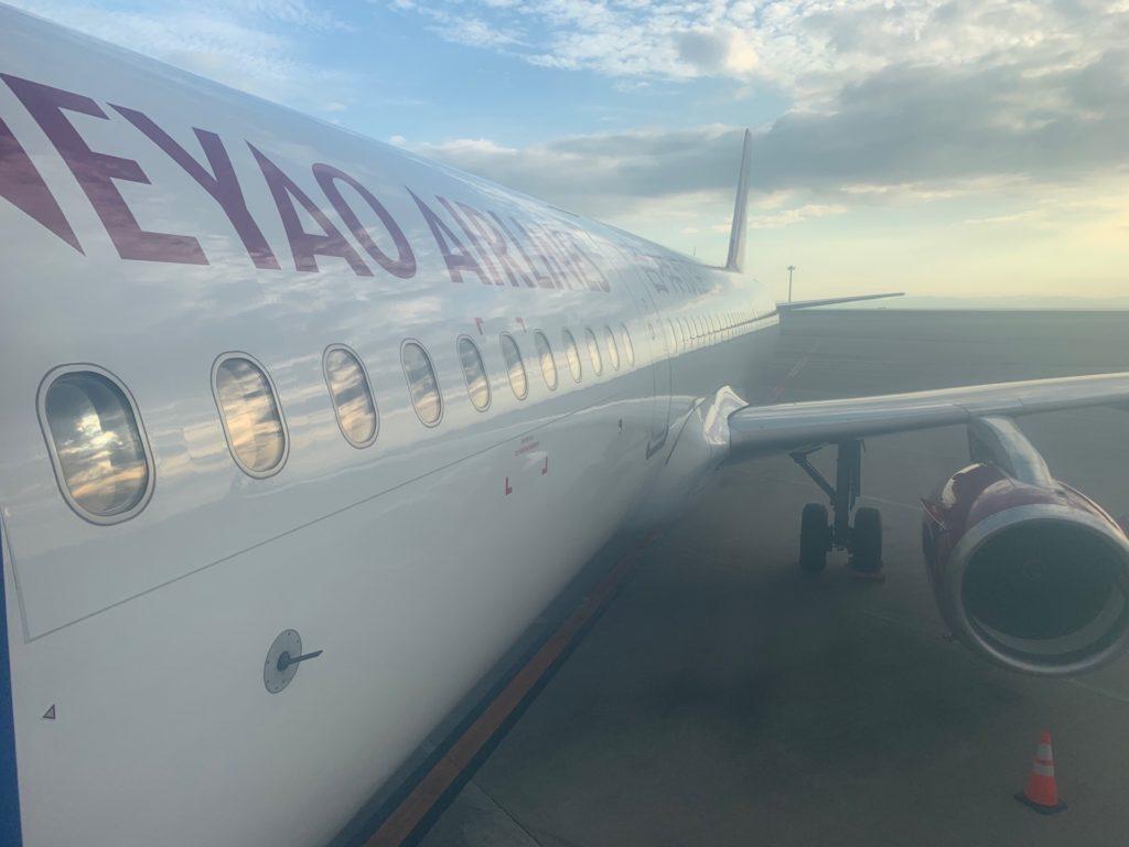 吉祥航空の機体