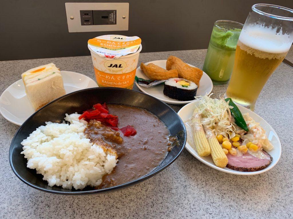 サクララウンジ(国際線)の軽食類