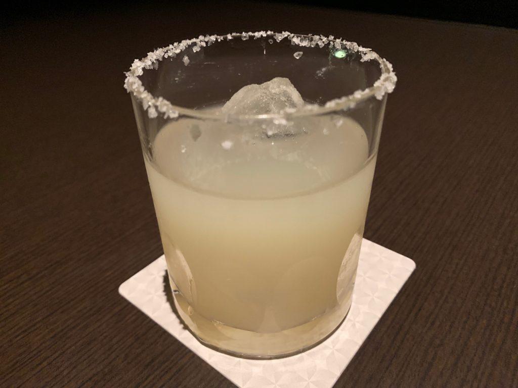 「sky21」のアルコールメニュー「ソルティドッグ」