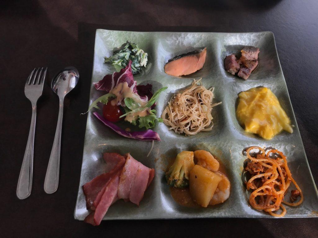 ホテルプラザ神戸のスマイリーネプチューンのプレミアム朝食
