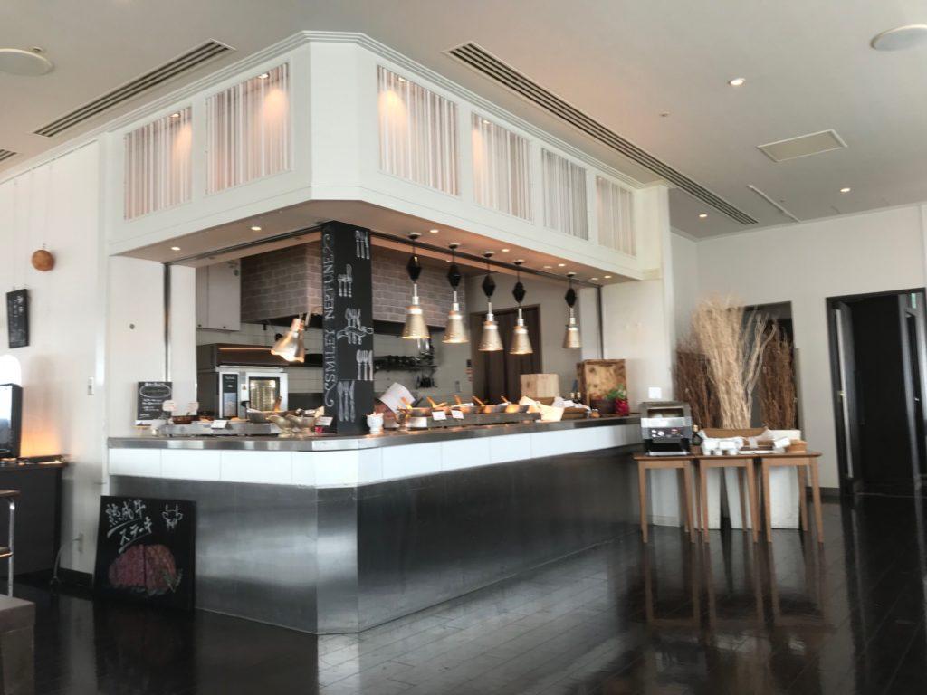 ホテルプラザ神戸のスマイリーネプチューンのプレミアム朝食の会場