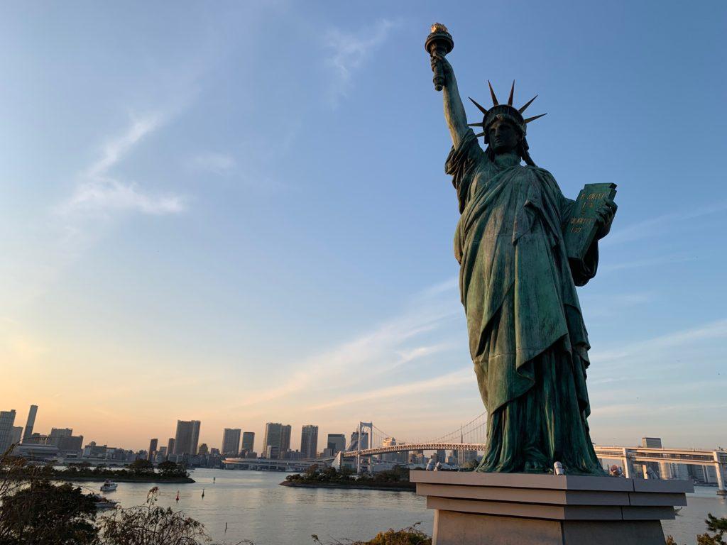お台場の「自由の女神像」