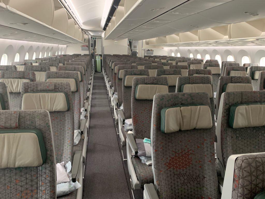 エバー航空(BR197)エコノミークラスの写真