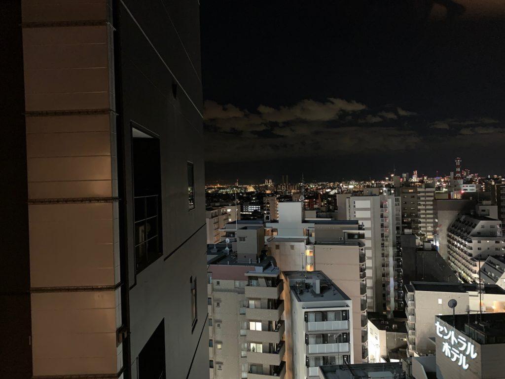 『天然温泉 扇浜の湯 ドーミーイン川崎』の客室からの眺望