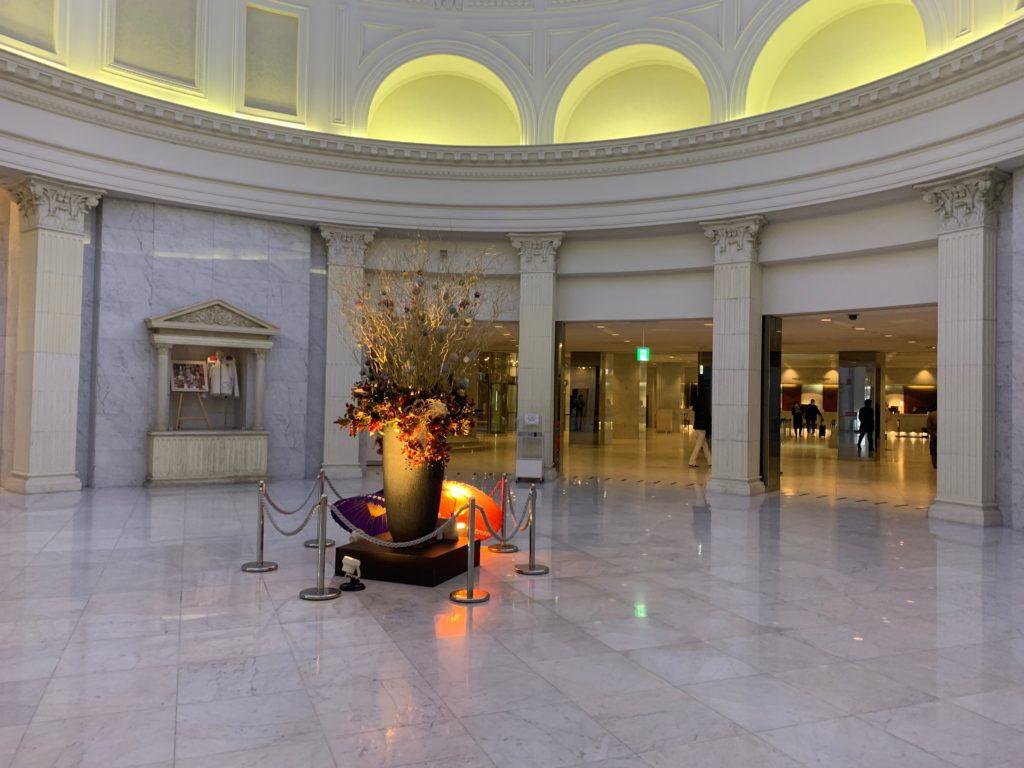 新横浜プリンスホテルのエレベーターホール