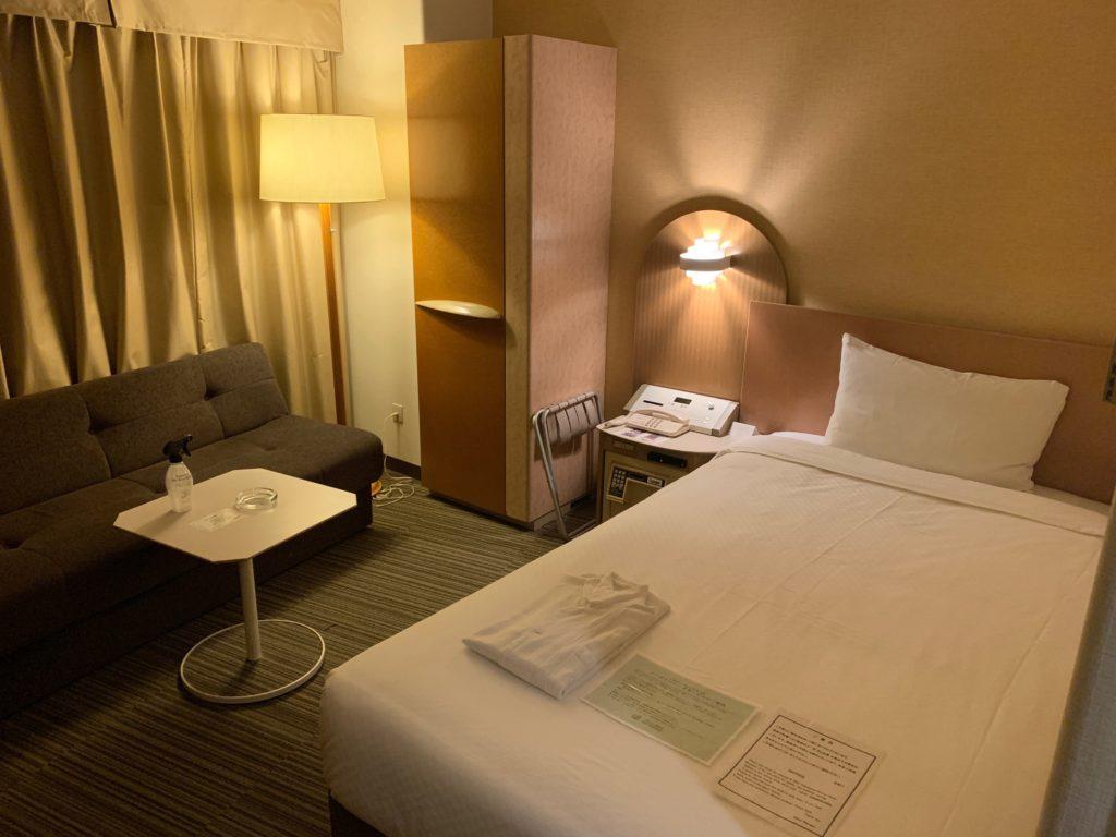 新横浜プリンスホテルのシングルルーム