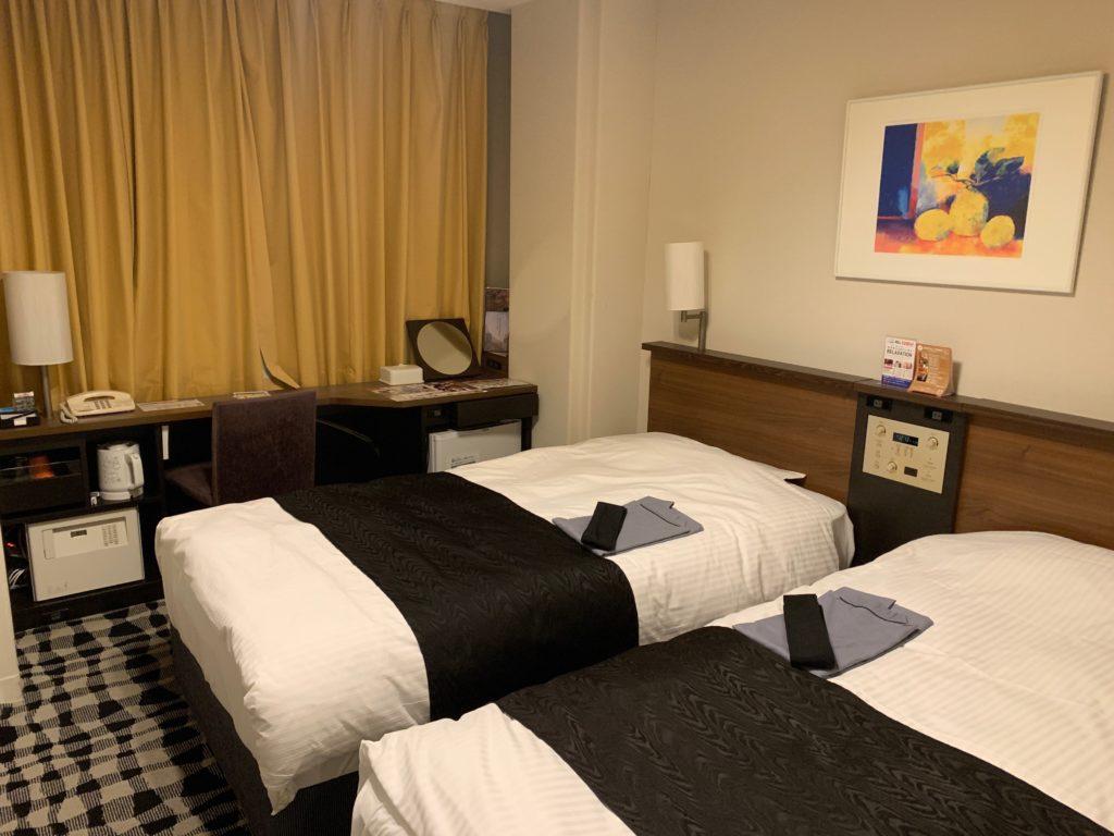 アパホテル&リゾート東京ベイ幕張のツインルームのツインルーム
