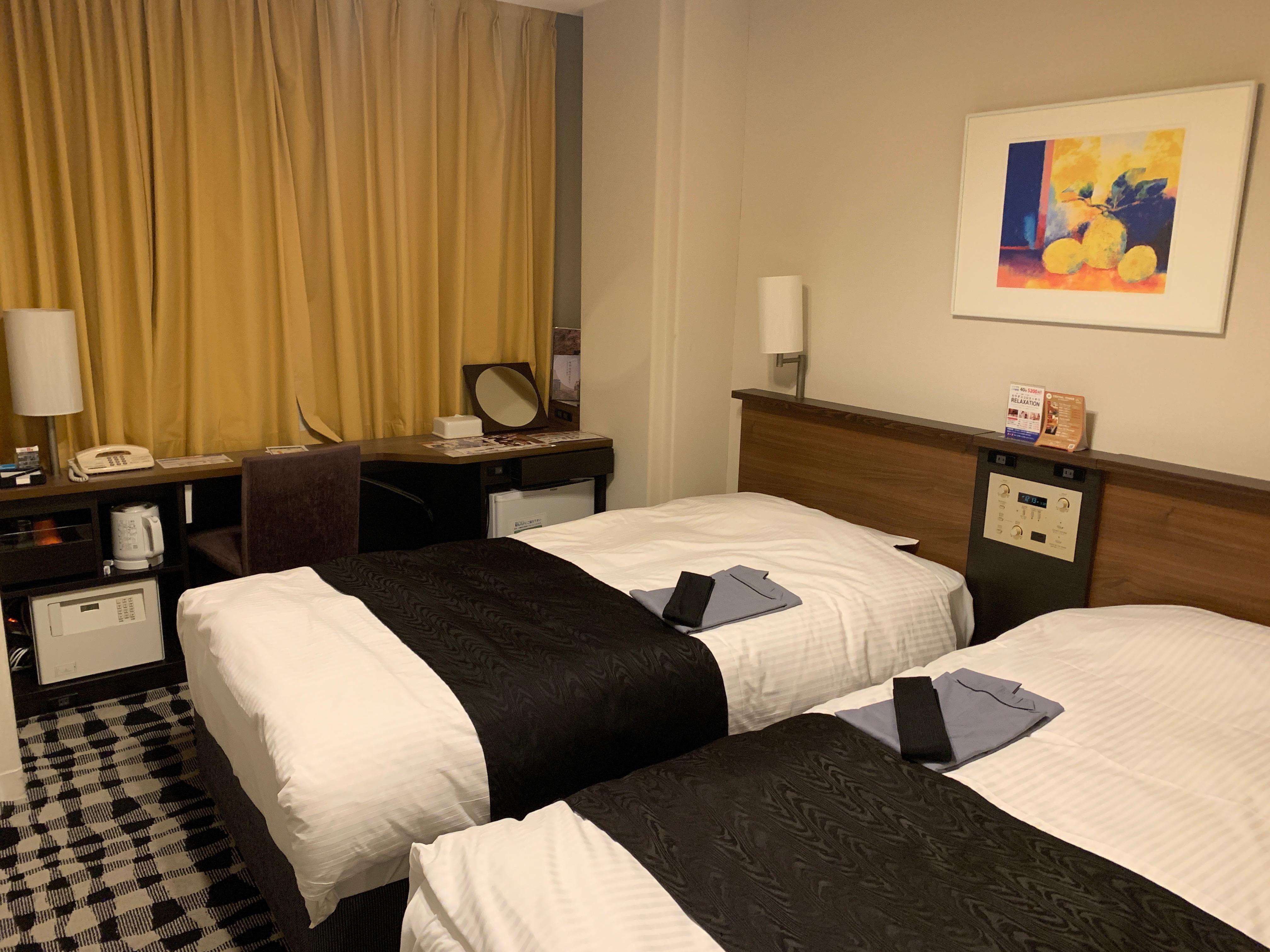 アパホテル&リゾート東京ベイ幕張のツインルーム