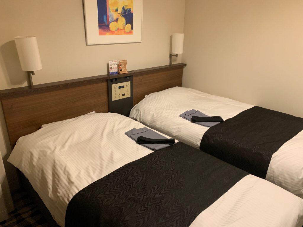 アパホテル&リゾート 東京ベイ幕張のツインルーム