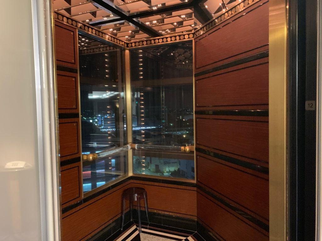 ホテルニューオータニ幕張のエレベーター