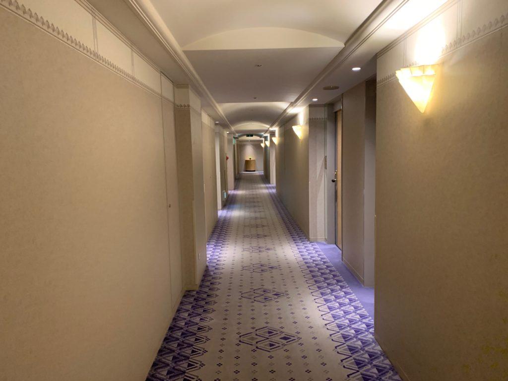 ホテルニューオータニ幕張の宿泊フロア