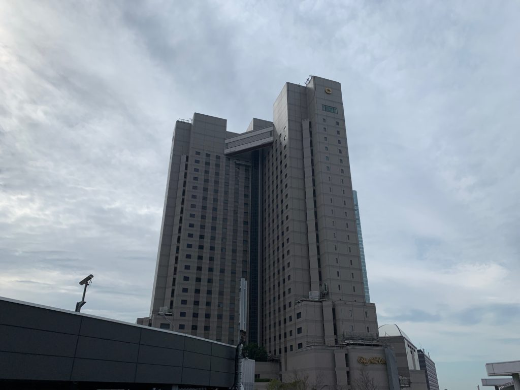 ホテルニューオータニ幕張の外観