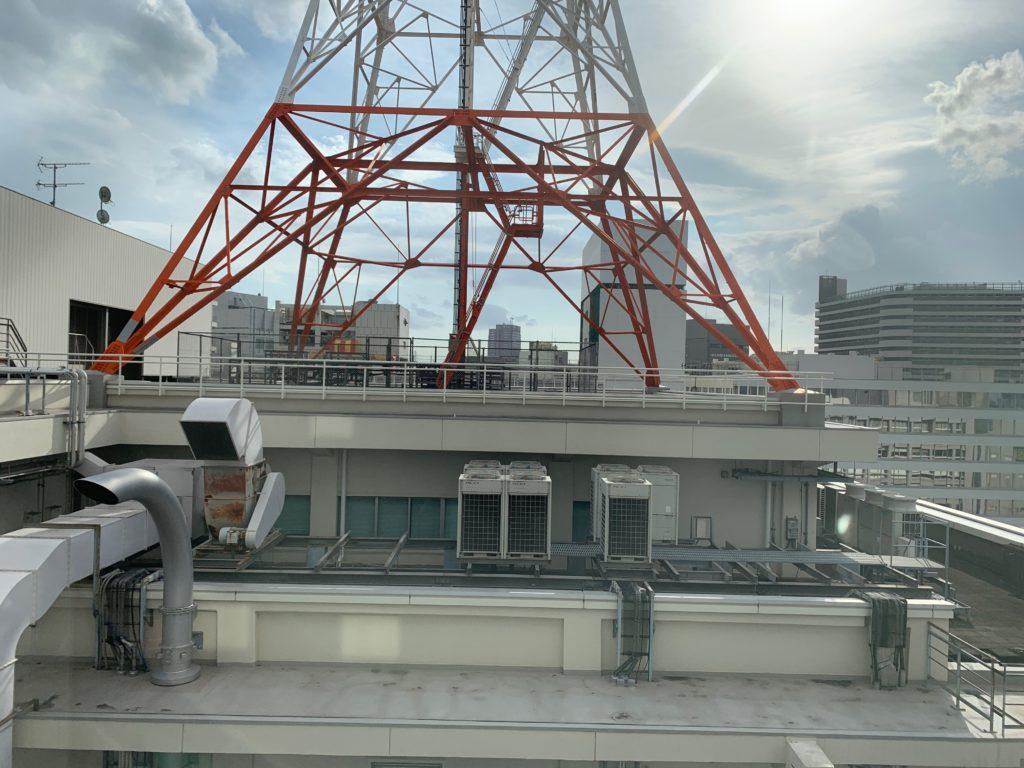 ベッセルイン千葉駅前の客室のシングルルームからの眺望