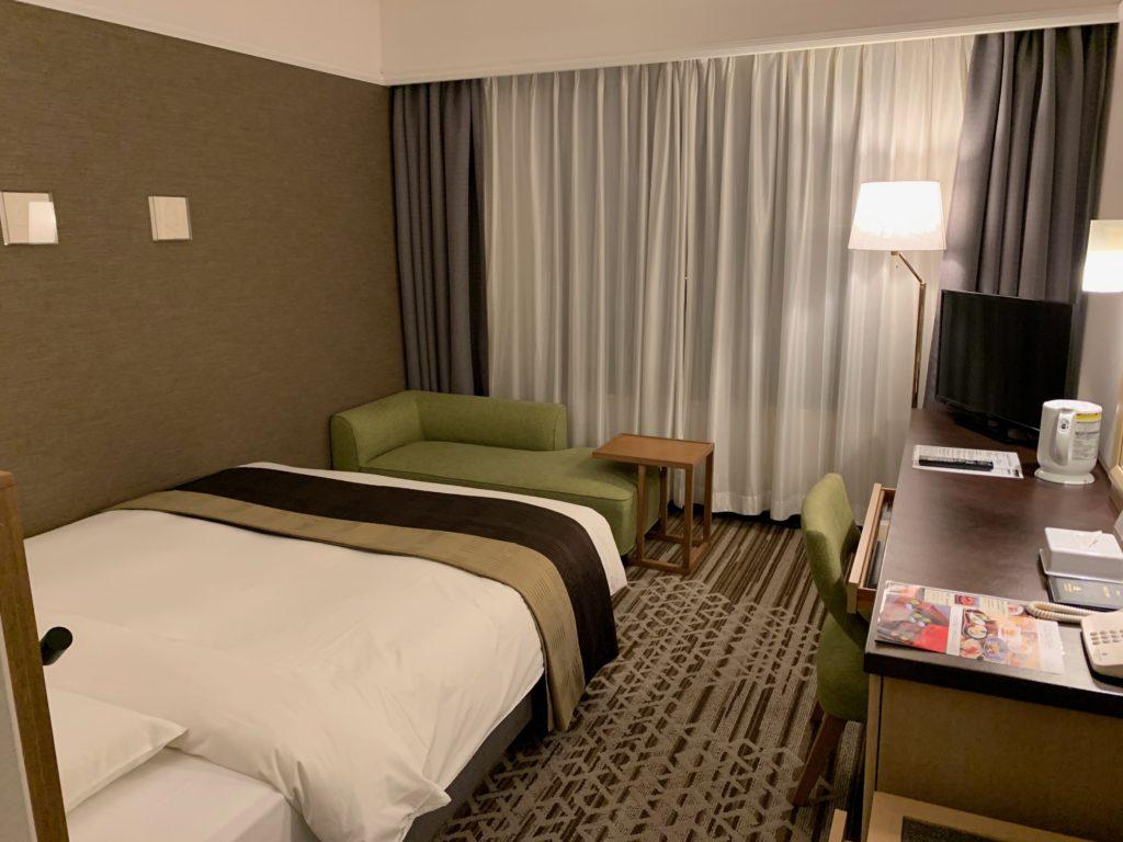 ホテル日航立川のダブルルーム