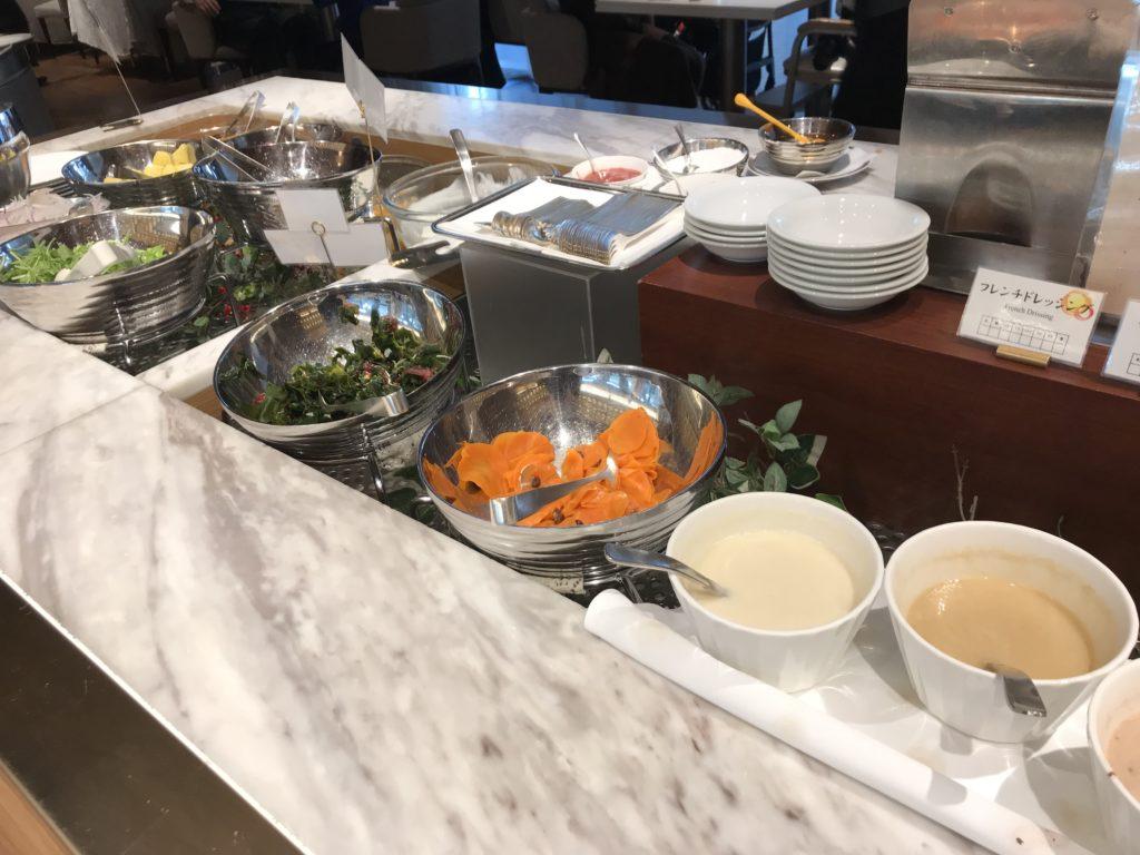 ホテル日航立川の朝食ブッフェ