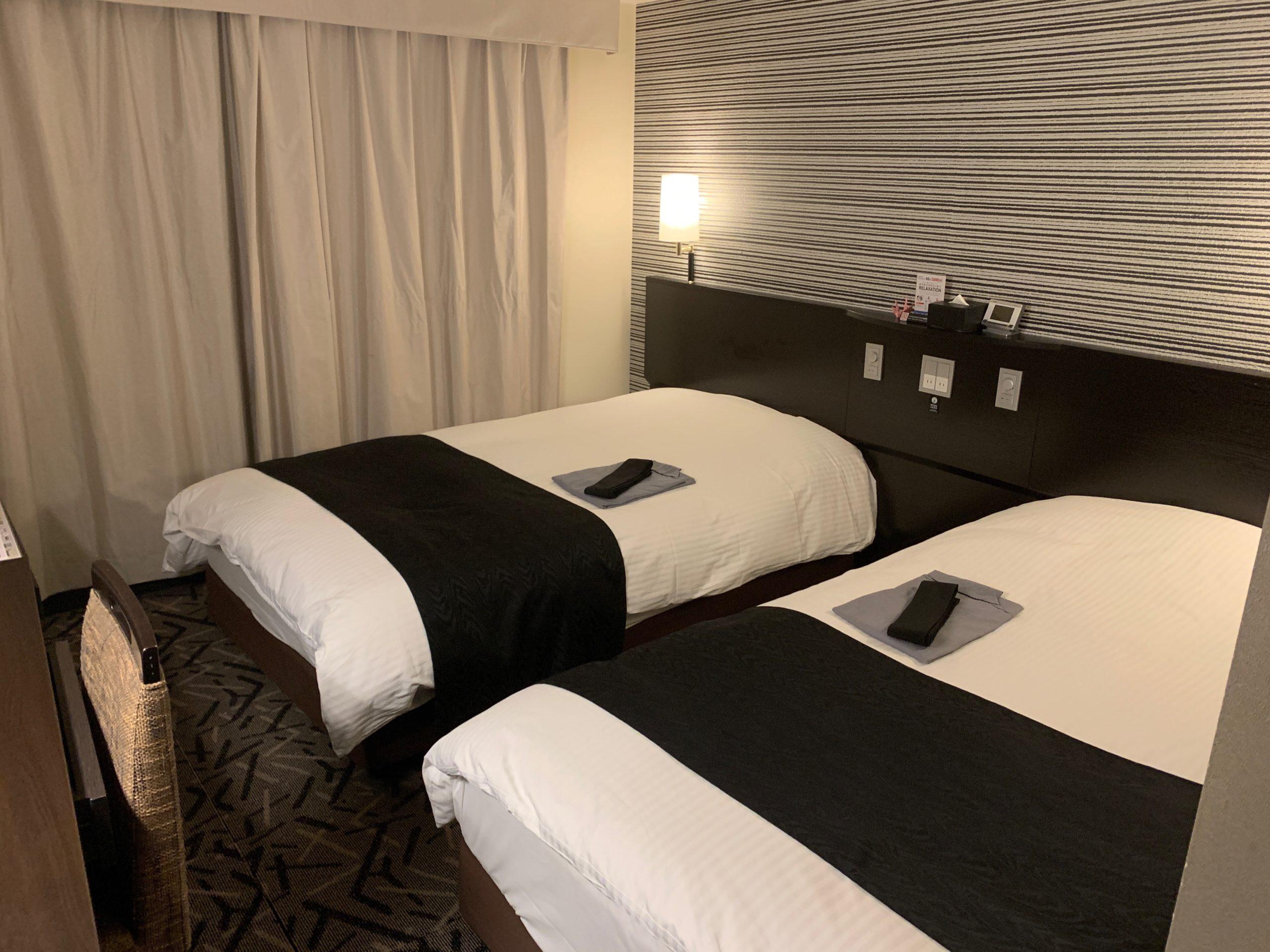 アパホテル&リゾーツ幕張ウエストウイングのツインルーム