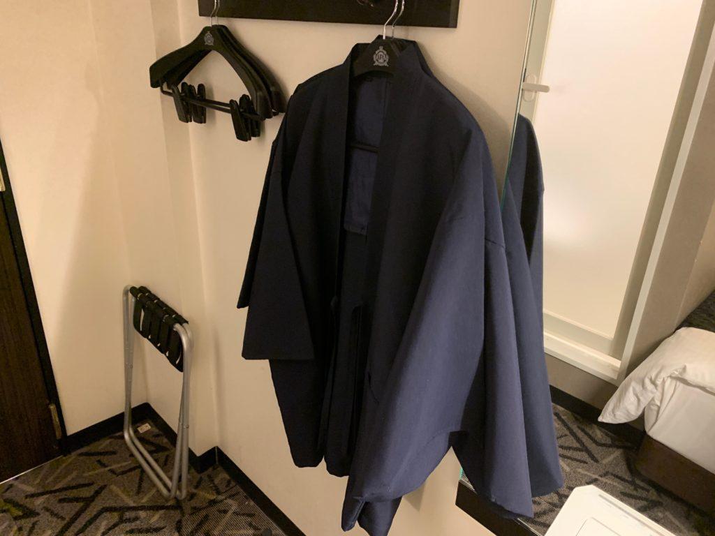 アパホテル&リゾート東京ベイ幕張のWEST WINGのツインルームの部屋着