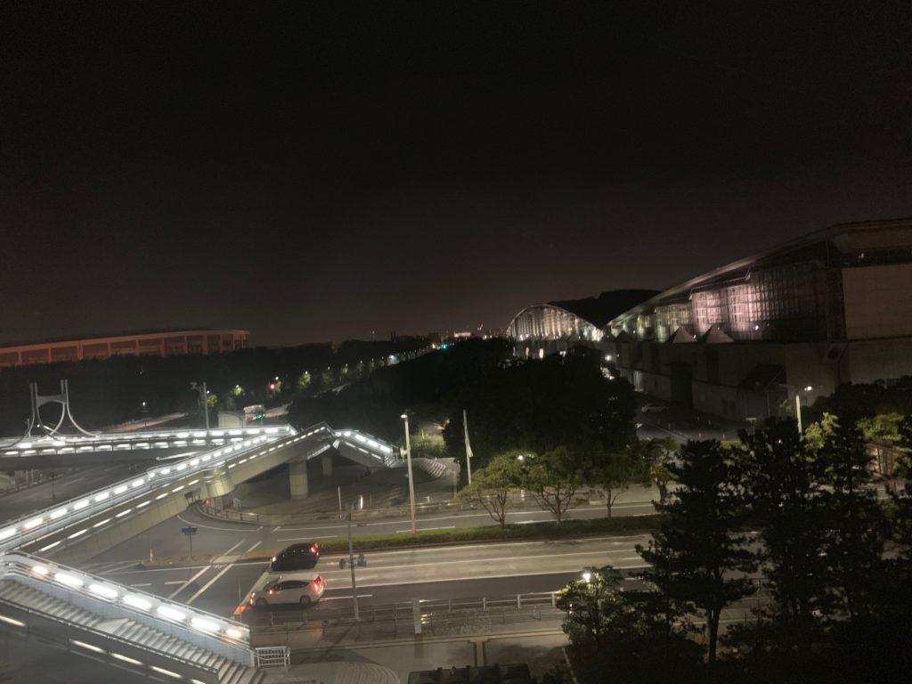 アパホテル&リゾート東京ベイ幕張のWEST WINGのツインルームからの眺望