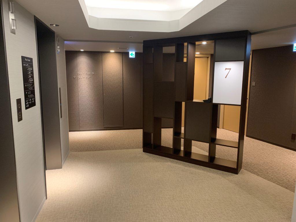 ダイワロイネットホテル千葉中央の客室フロア