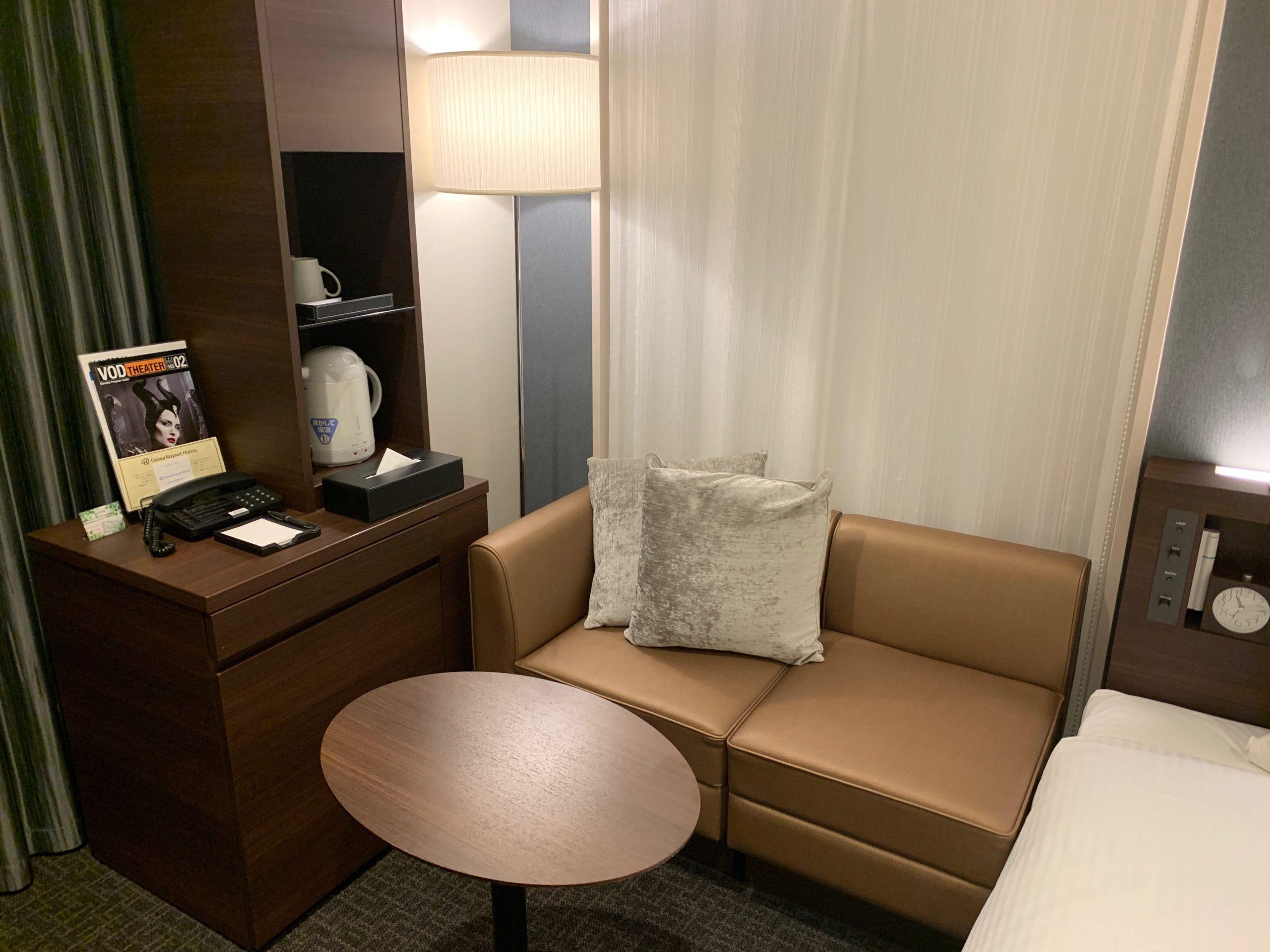 ダイワロイネットホテル千葉中央のハリウッドツインルーム