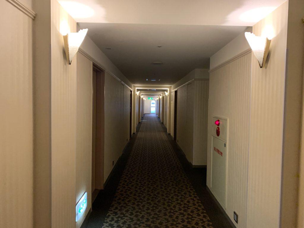 ホテルフランクスの宿泊フロア