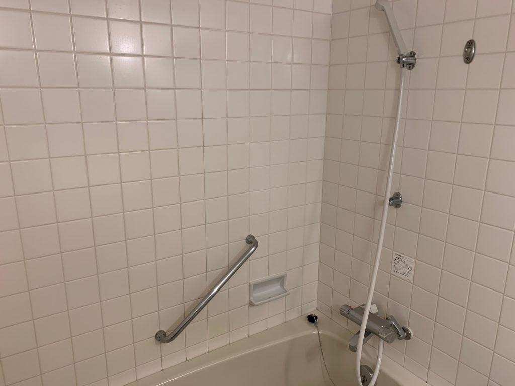 ホテルフランクスのスタイリッシュツインルームのバスルーム