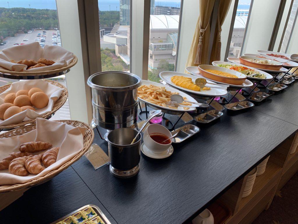ホテルフランクスの朝食バイキング