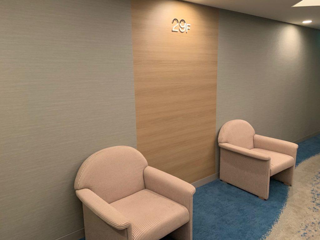 びわ湖大津プリンスホテルの客室フロア