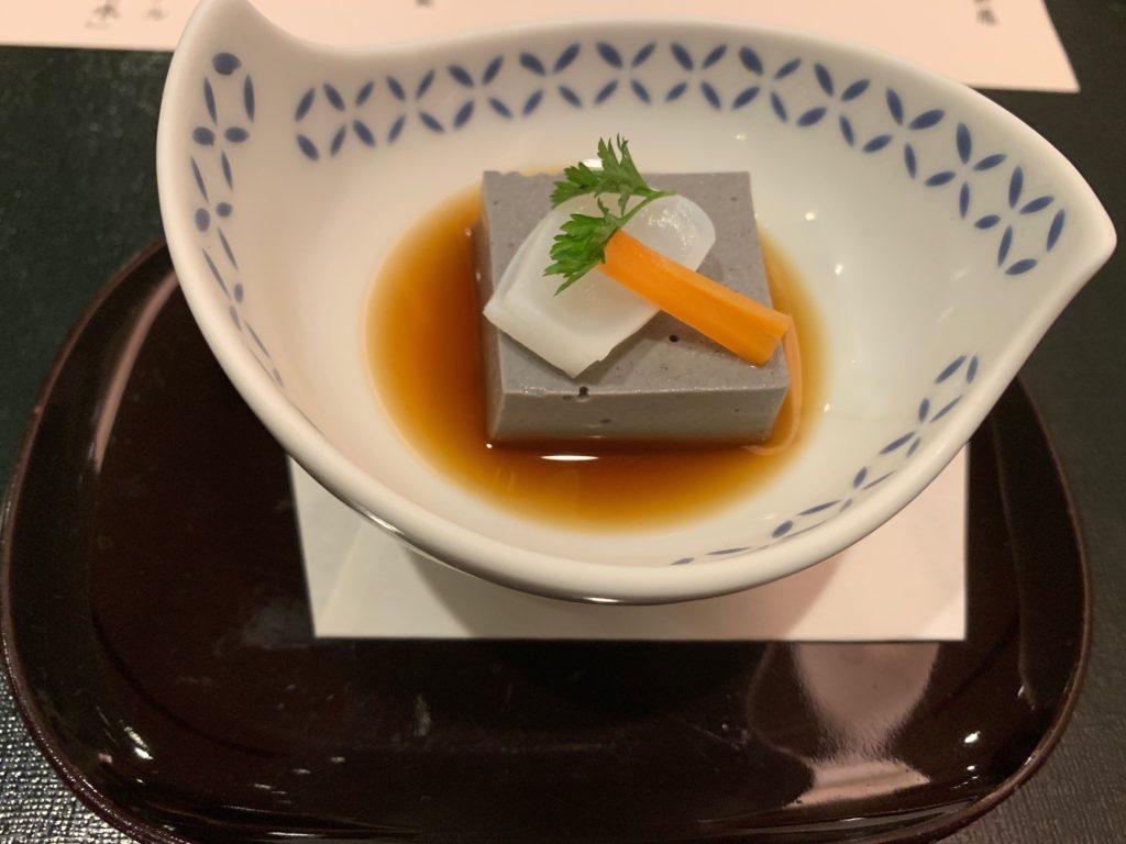 びわ湖大津プリンスホテルの『和食 清水』のすき焼き懐石の小鉢